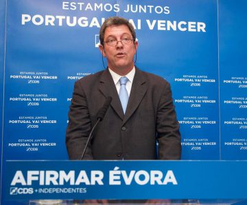 Évora: CDS-PP divulga candidatos às freguesias do concelho
