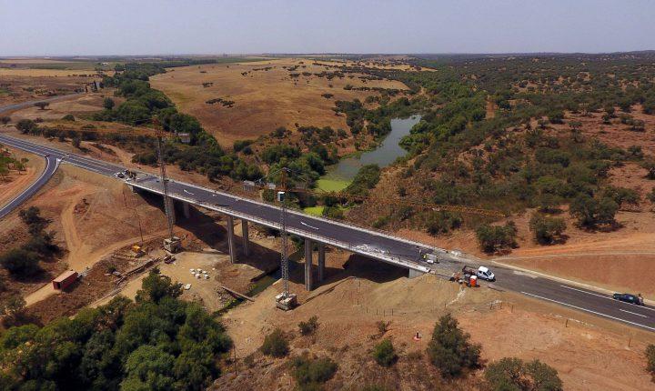 Évora: Nova ponte do Albardão abre na segunda-feira