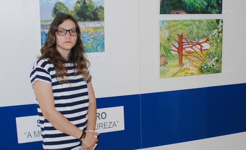 Évora: Sara Caeiro expõe pintura e cerâmica