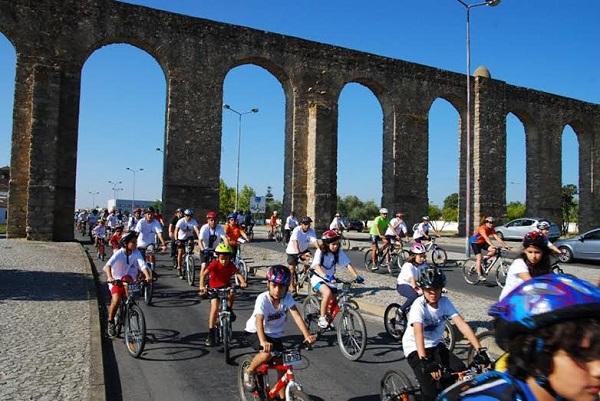 Évora: Fim-de-semana de ciclismo para miúdos e graúdos