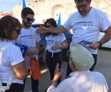 Évora: Candidato do CDS-PP/MPT/PPM quer uma parte do IMI no centro histórico