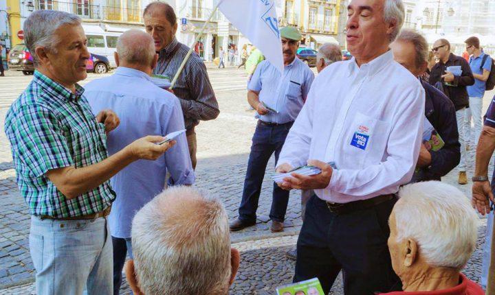 Évora: Candidato da CDU promete investimento no próximo mandato