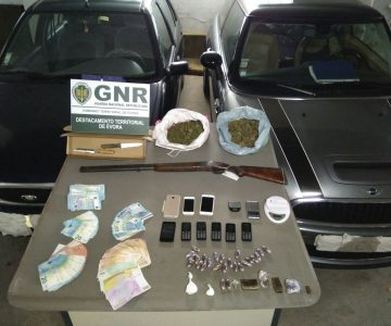 Évora: Três detidos por suspeitas de tráfico de droga
