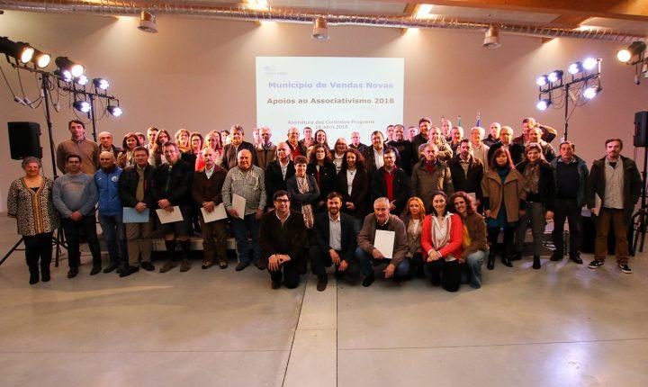 Câmara de Vendas Novas apoia movimento associativo com 273 mil euros