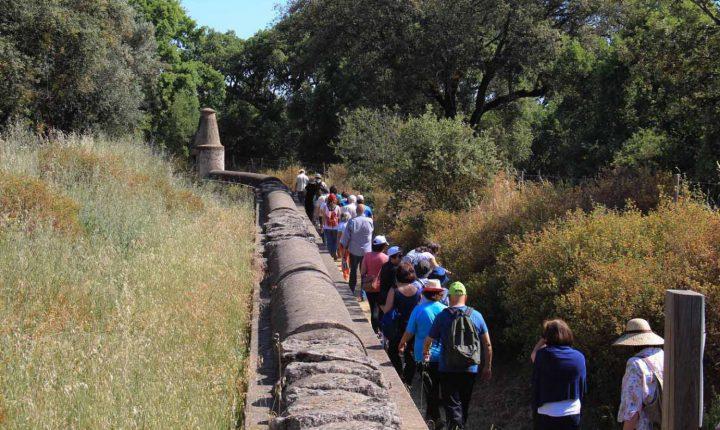 Caminhada convida a conhecer património e caminhos da água