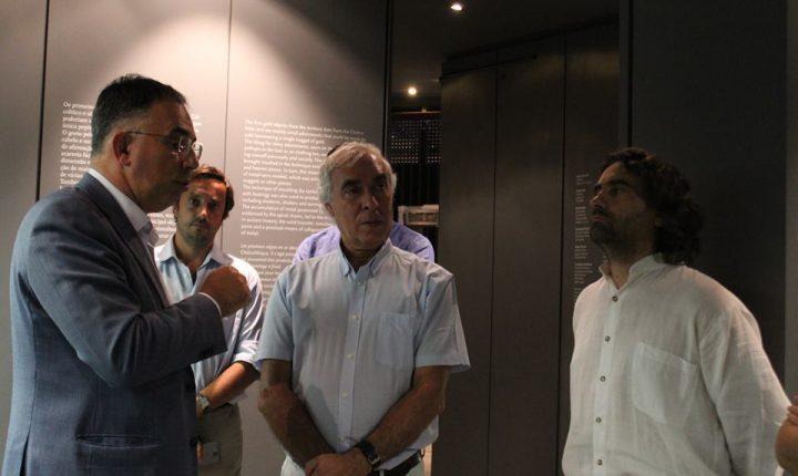 Évora potencia eventuais parcerias e sinergias com Museu de Arqueologia