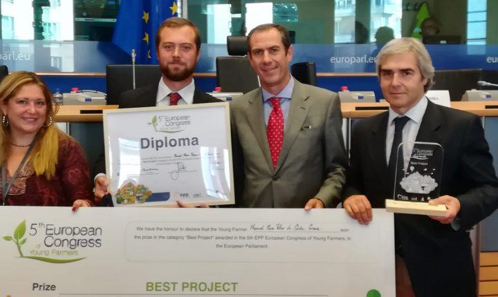 Agricultor de Évora vence Prémio Melhor Jovem Agricultor da Europa