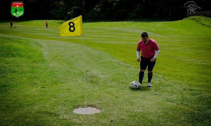 Eborense Pedro Brito no Mundial de Footgolf