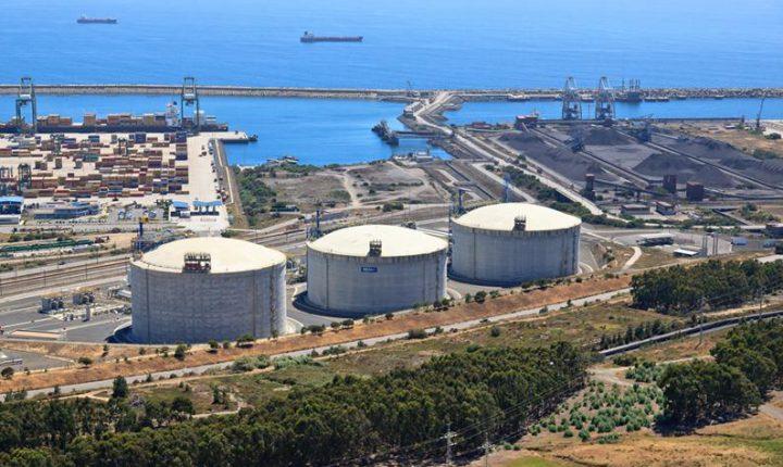 Sines assegura entrada de 70% do gás natural em Portugal