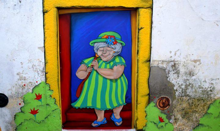 Évora: Arte urbana embeleza centro histórico