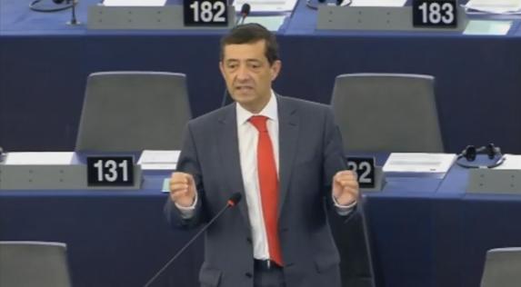 Zorrinho critica eleição do novo presidente do Parlamento Europeu