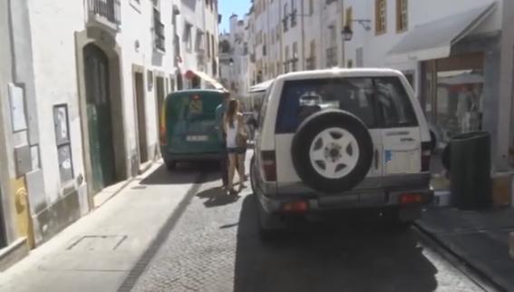 Meio milhar de condutores autuados em Évora por estacionamento ilegal