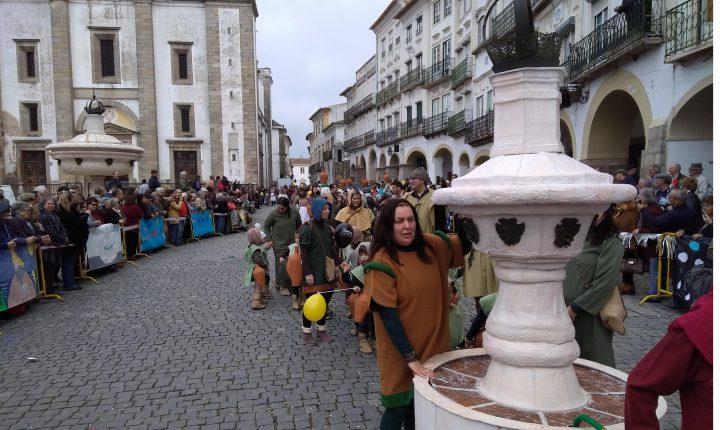 Évora: Desfile de carnaval alerta para importância da água
