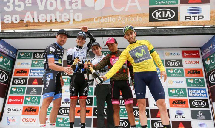 Ciclismo: Espanhol Carlos Barbero veste de amarelo