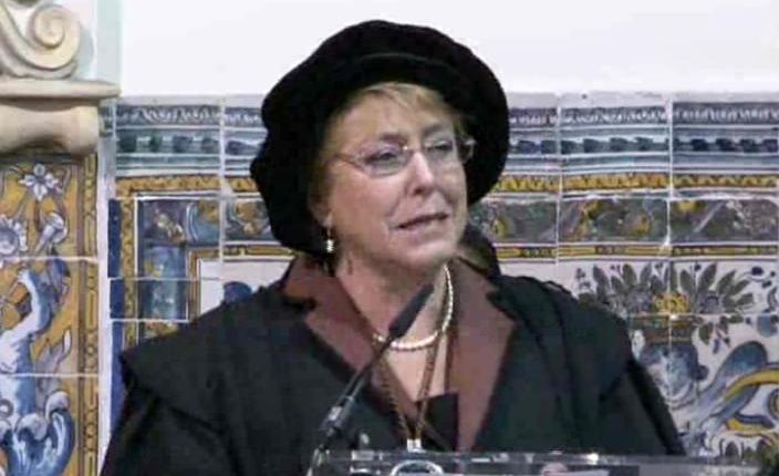 Chile: Bachelet recebe Honoris Causa da Universidade de Évora