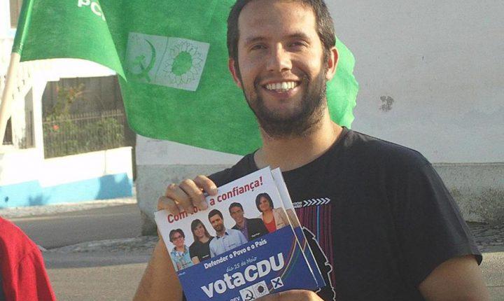 Estremoz: CDU candidata Rui Fonseca à câmara municipal