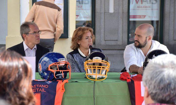 Évora: Sanches de Miranda recebe final da Liga de Futebol Americano