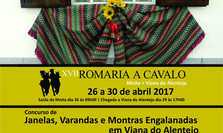 Viana do Alentejo: Concurso de Janelas, Varandas e Montras Engalanadas