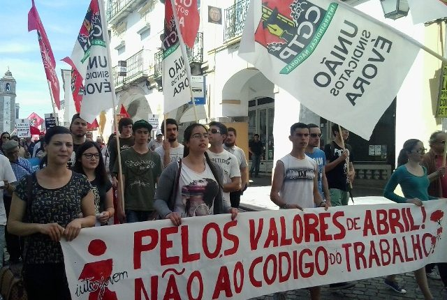 União de sindicatos assinala 1.º de Maio no Tempo Romano em Évora