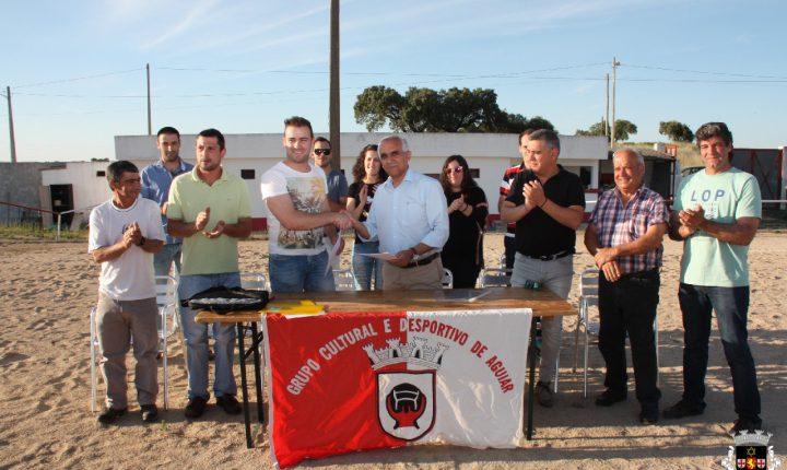 Viana do Alentejo: Campo de Jogos em Aguiar vai ter relvado