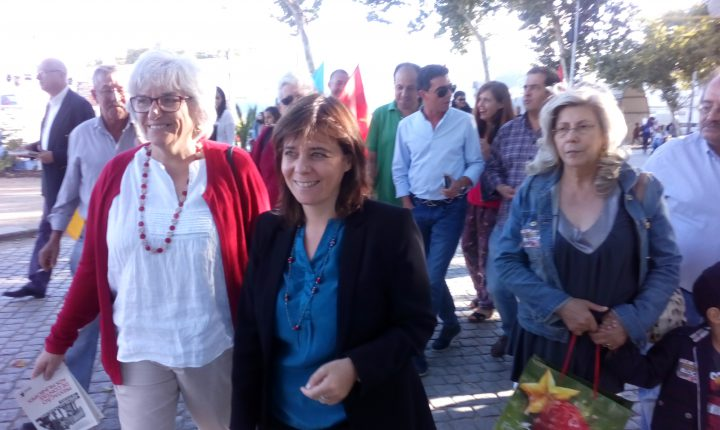 Evora: Catarina Martins regressa a Évora para campanha autárquica
