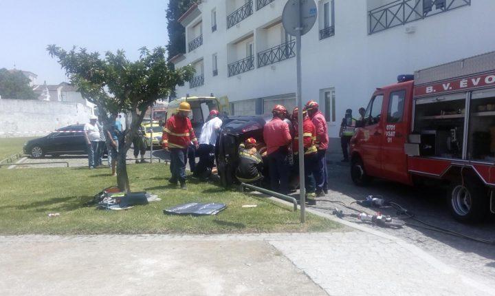 Évora: Despiste de automóvel fere condutora