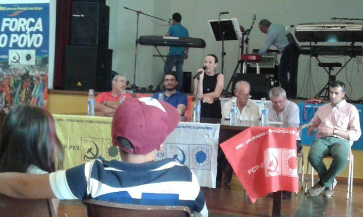 Mourão: Psicóloga Cristina Candeias lidera lista da CDU