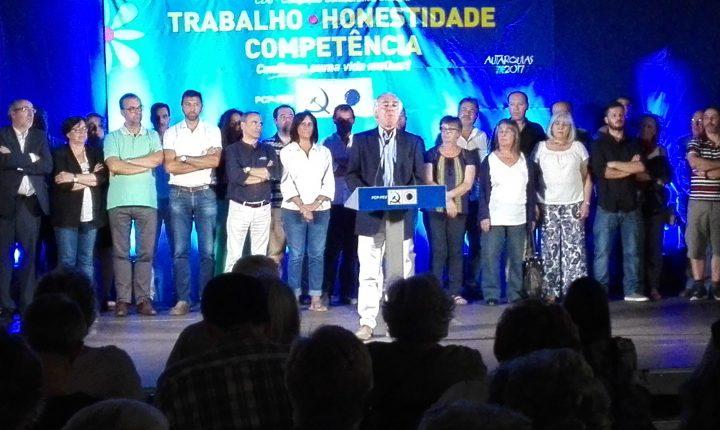 Évora: Presidente acena com Palácio D. Manuel e Salão Central
