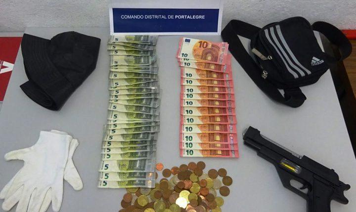 Portalegre: Homem tenta assaltar banco com pistola de plástico