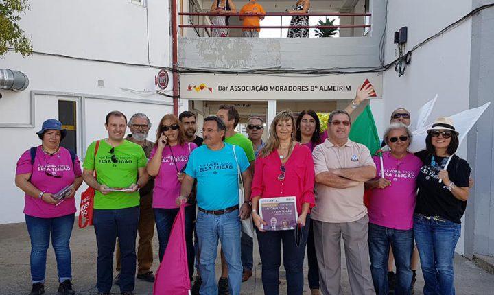Évora: Candidata do PS confiante na reconquista da câmara