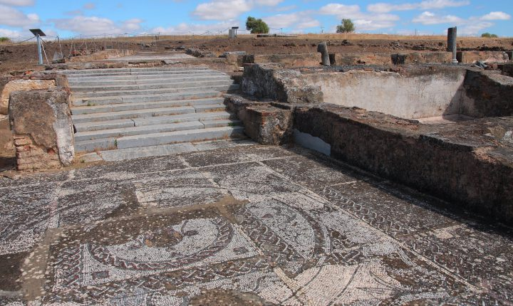 Beja: Villa Romana de Pisões reabre ao público