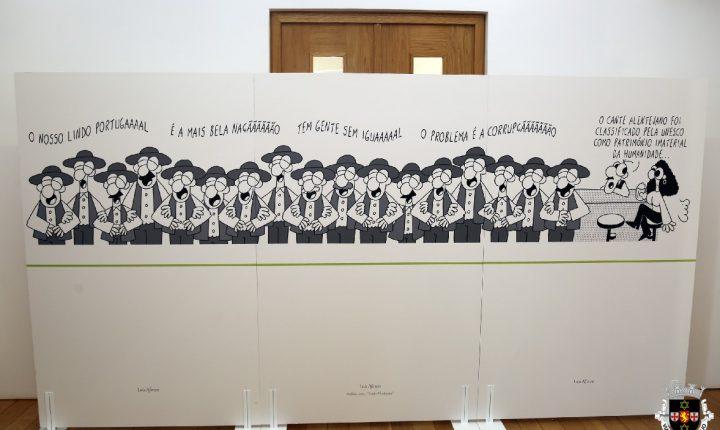 Alcáçovas: Cartoonista Luís Afonso expõe no Paço do Henriques