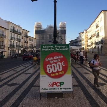 Évora: PSD quer propaganda política fora do centro histórico