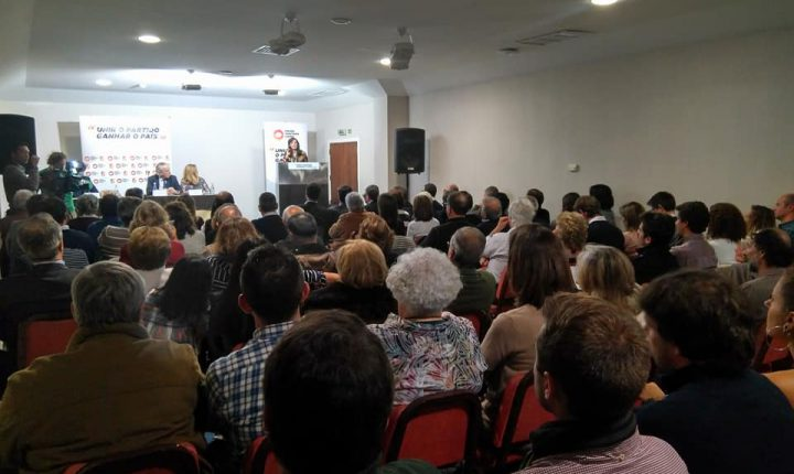 Évora: Santana Lopes promete combater desertificação