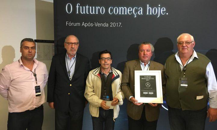 Évora: Oficina StarSul distinguida pela Mercedes Benz Portugal