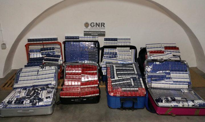 Elvas: Apreensão de 124 mil cigarros na fronteira do Caia