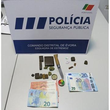 Policia: Agentes do comando de Évora detêm 3 homens por tráfico de droga