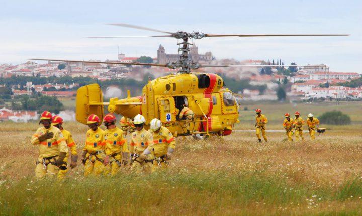 Ponte de Sor: Proteção Civil fecha hangar com helicópteros Kamov
