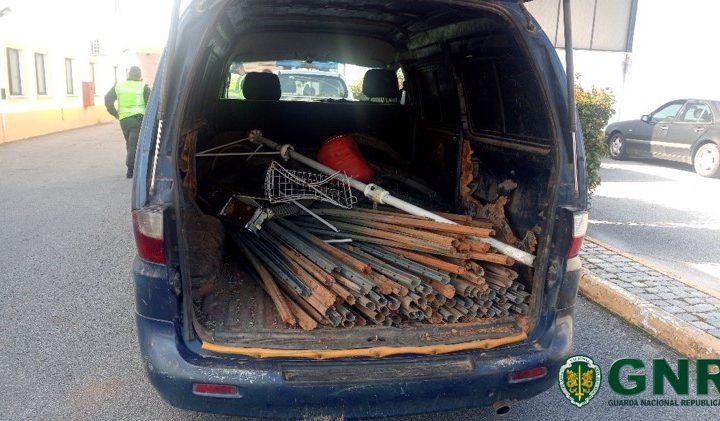 Elvas: GNR recupera material furtado em exploração agrícola