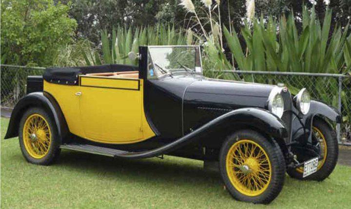 Automóveis Bugatti invadem Alentejo