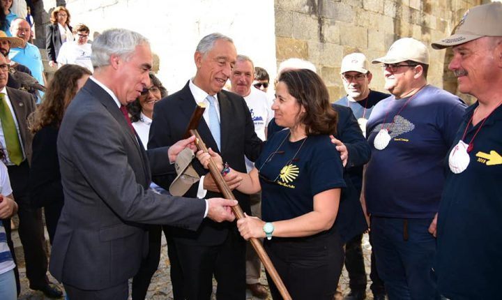 Marcelo acompanhou peregrinos em Évora