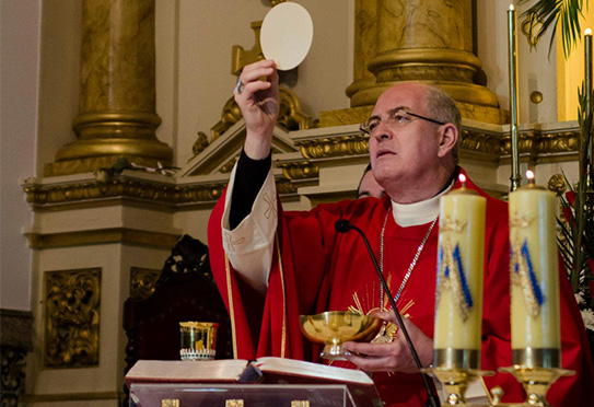 Arcebispo dirige mensagem à Paróquia do Sagrado Coração de Jesus