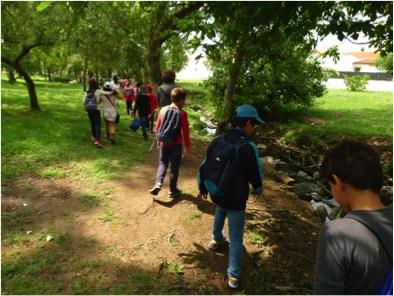 Ação educativa leva 120 alunos a ribeira de Évora