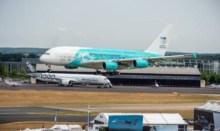 Maior avião do mundo aterra hoje em Beja