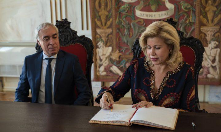 Primeira-dama da República da Costa do Marfim visitou Évora