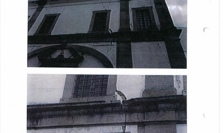 Évora: Relatório da Proteção Civil alerta para falta de segurança junto à Igreja das Mercês
