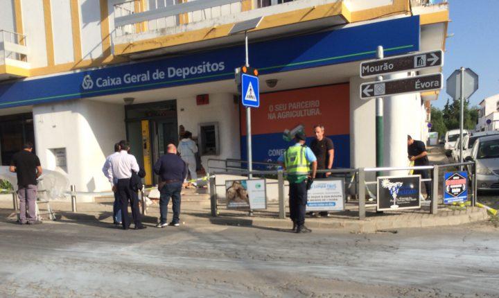 Caixa multibanco assaltada em Reguengos de Monsaraz