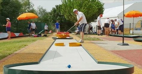 Noventa atletas disputam Europeu de minigolfe em Portel
