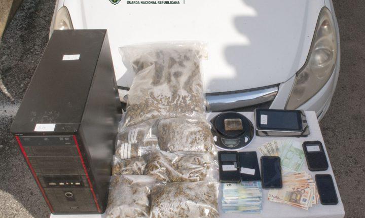 GNR detém quatro suspeitos de tráfico de droga em Évora