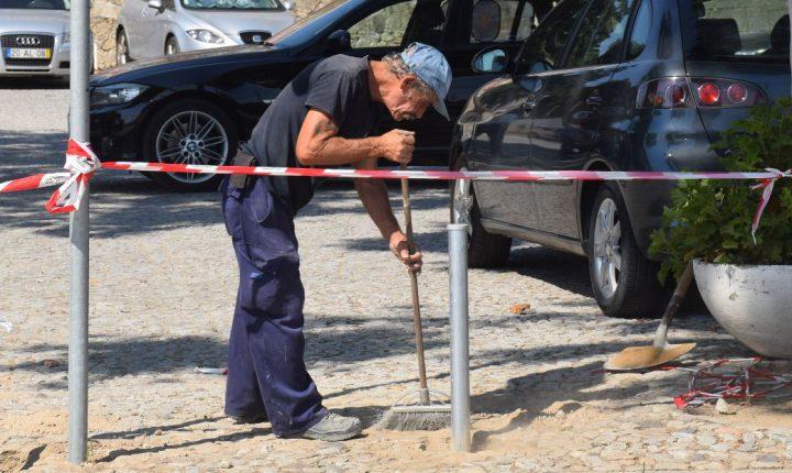 Câmara melhora circulação pedonal no Rossio de S. Brás